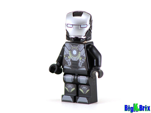 IRON MAN Mark 24 Tank Custom Printed on Lego Minifigure! Marvel