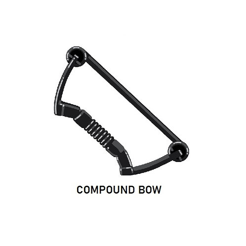 Bow Compound Custom for Lego Minifigures Minifigs