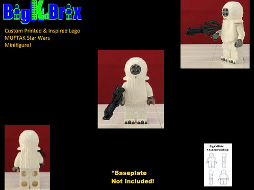 MUFTAK Custom Printed & Inspired Lego Star Wars Minifigure