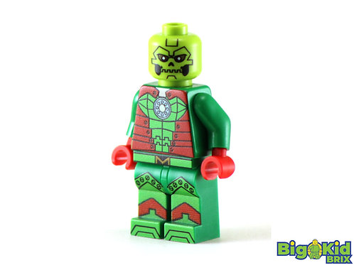 METALLO Man Custom Printed on Lego Minifigure! DC