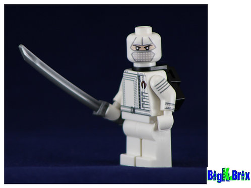 STORM SHADOW GI Joe Custom Printed Lego Minifigure
