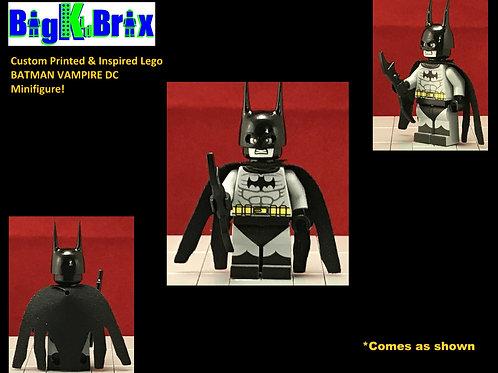 BATMAN VAMPIRE Custom Printed & Inspired DC Lego Minifigure