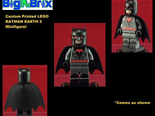 Batman Earth 2 DC Custom Printed Minifigure