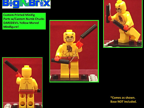 DAREDEVIL Yellow Suit Custom Printed & Inspired Minifigure