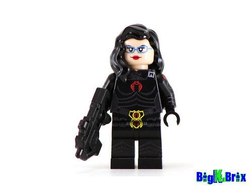 BARONESS Custom Printed on Lego Minifigure! GI Joe