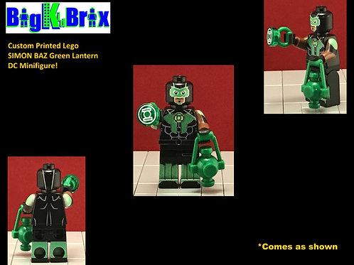 Simon Biaz Green Lantern DC Custom Printed Minifigure