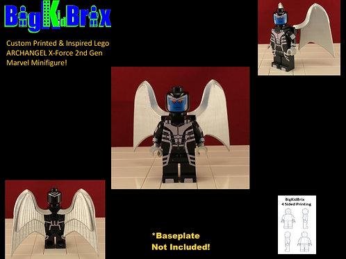 ARCHANGEL X-Force Custom Printed & Inspired Lego Marvel Minifigure