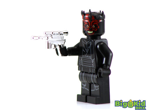 CHROME DL-44 BLASTER Custom for Lego Minifigure!