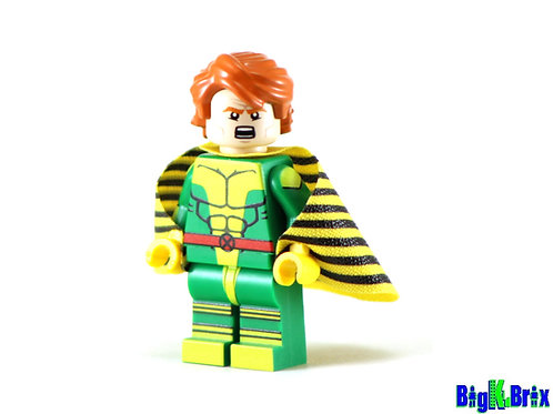 BANSHEE Xmen Custom Printed on Lego Minifigure! Marvel