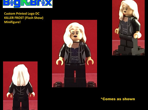 Killer Frost Version #2 Flash Show DC Custom Printed Minifigure