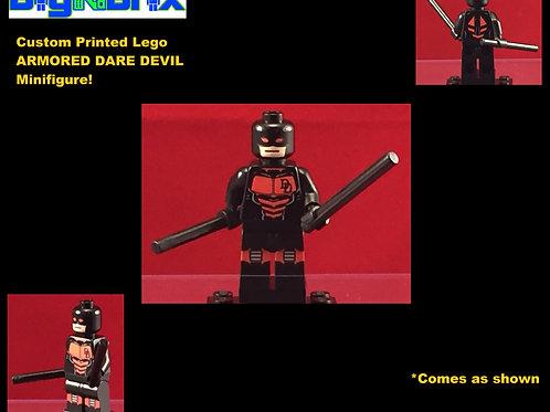 Daredevil Armored Marvel Custom Printed Minifigure