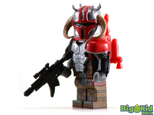MANDALORIAN STORMBRINGER Custom Printed on Lego Minifigure! Star Wars