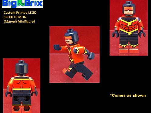 Speed Demon DC Custom Printed Minifigure