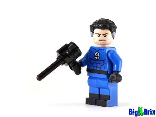 REED RICHARDS Mr Fantastic Custom Printed on Lego Minifigure! Marvel