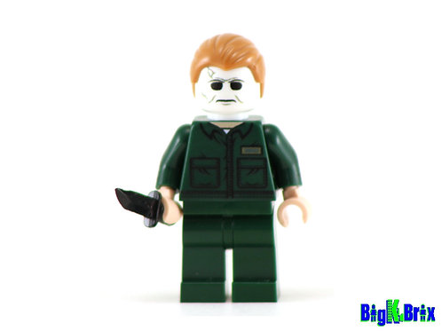 MICHEAL MYERS Halloween Custom Printed & Inspired Lego Horror Minifigure!