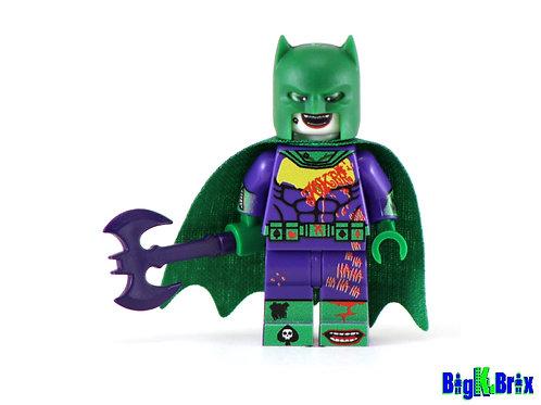 BATMAN JOKER Disguise Custom Printed on Lego Minifigure! DC