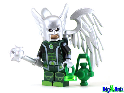 HAWKMAN Custom Printed on Lego Minifigure! DC