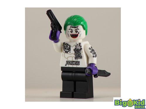 JOKER Suicide Squad Custom Printed on Lego Minifigure! DC