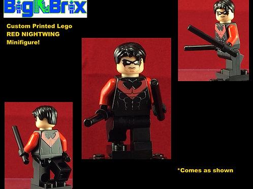 Red Nightwing DC Custom Printed Minifigure