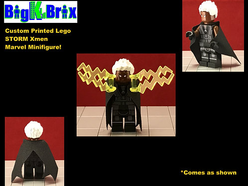 STORM Xmen Custom Printed & Inspired Lego Marvel Minifigure