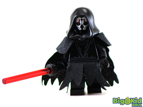DARTH NIHILUS Custom Printed on Lego Minifigure! Star Wars