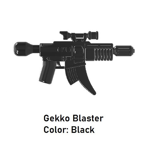 GEKKO BLASTER Custom for Lego Minifigures! Star Wars Mandalorian