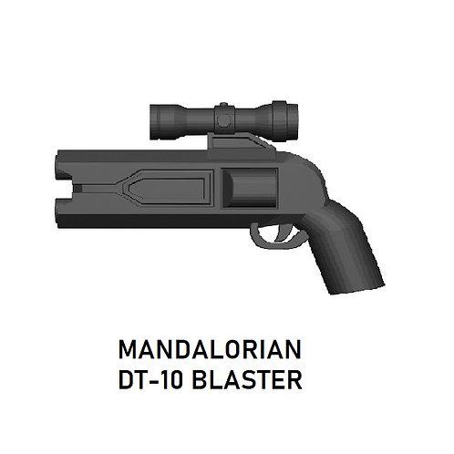 DT-10 Mandalorian Blaster for Lego Star Wars Minifigures!