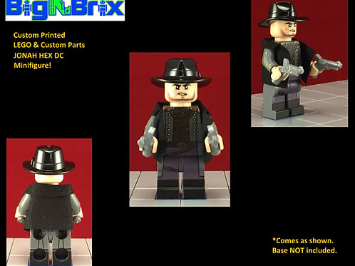 Jonah Hex DC Custom Printed Minifigure