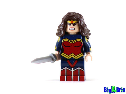WONDER WOMAN Custom Printed on Lego Minifigure! DC