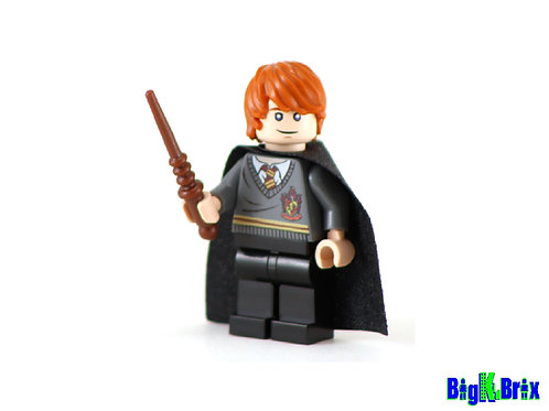 RON WEASLEY Custom Printed & Inspired Lego Harry Potter Minifigure