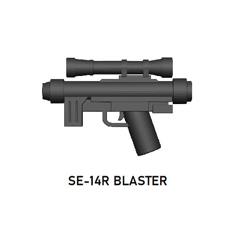 SE-14R Blaster for Lego Star Wars Minifigures!