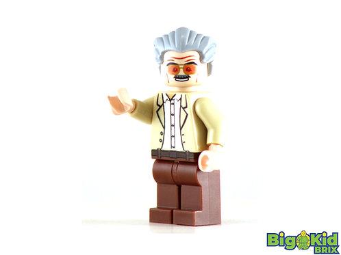 STAN LEE Custom Printed on Lego Minifigure! Marvel
