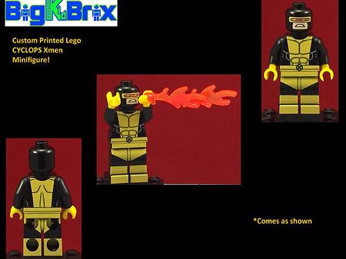 Cyclops Xmen Marvel Custom Printed Minifigure
