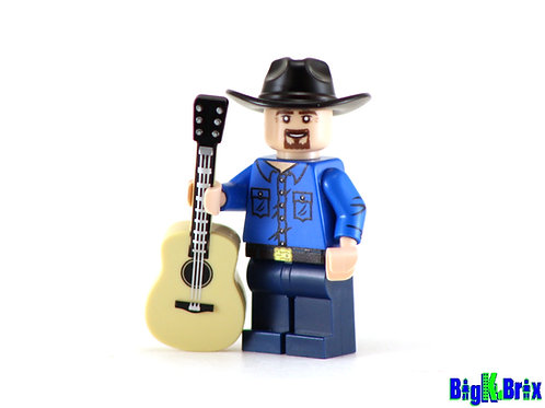 GARTH BROOKS Custom Printed on Lego Minifigure! Musician