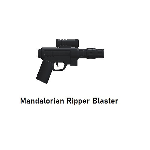 MANDALORIAN RIPPER Blaster for Lego Minifigures! Star Wars