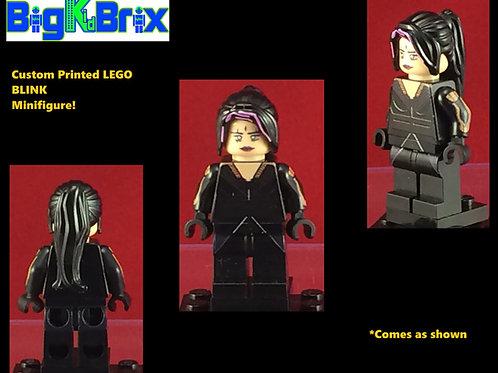 Blink Xmen Marvel Custom Printed Lego Minifigure