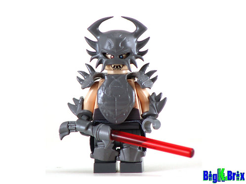 DARTH KRAYT ARMORED Custom Printed on Lego Minifigure! Star Wars