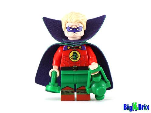ALAN SCOTT Orig Green Lantern Custom Printed on Lego Minifigure!  DC