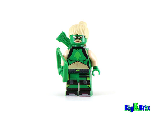 ARTEMISE CROCK Custom Printed on Lego Minifigure! DC Young Justice