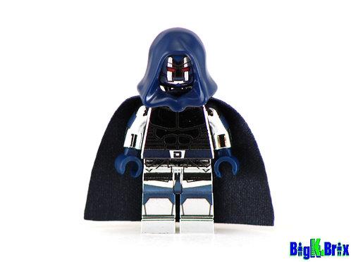 DOCTOR DOOM 2099 CHROME Custom Printed on Lego Minifigure! Marvel