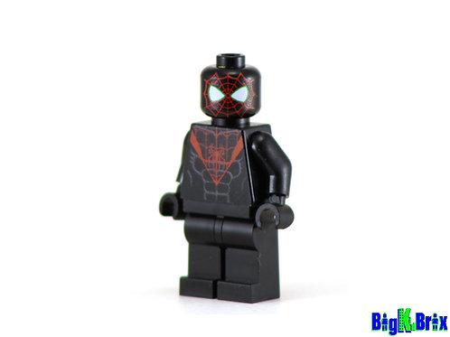 MILES MORALES Spiderman Custom Printed & Inspired Lego Marvel Minifigure