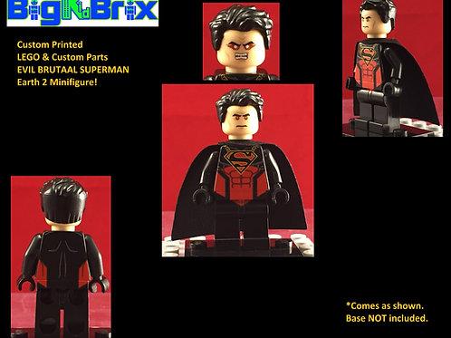 Superman Brutaal DC Custom Printed Minifigure