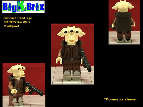 REE YEES Star Wars Custom Printed Lego Minifigure