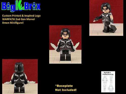 WARPATH Custom Printed & Inspired Lego Marvel Xmen X-force Minifigure