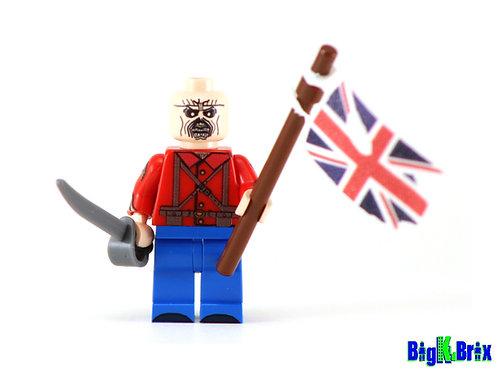 EDDIE IRON MAIDEN Custom Printed & Inspired Lego Minifigure