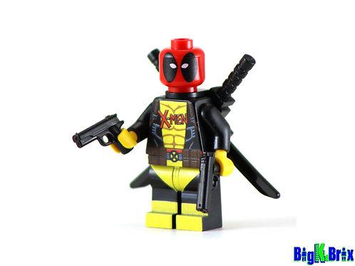 DEADPOOL XMEN Custom Printed on Lego Minifigure! Marvel