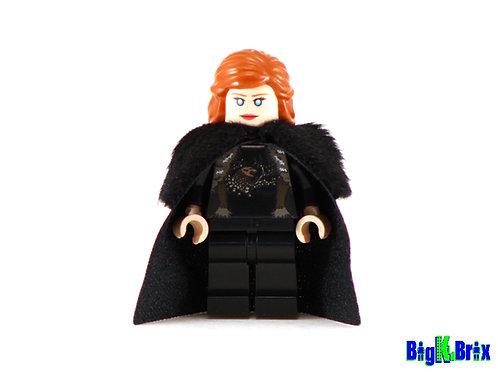 SANSA STARK Custom Printed on Lego Minifigure! Game of Thrones
