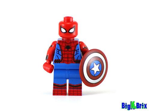 SPIDERMAN Civil War Custom Printed & Inspired Lego Marvel Minifigure!