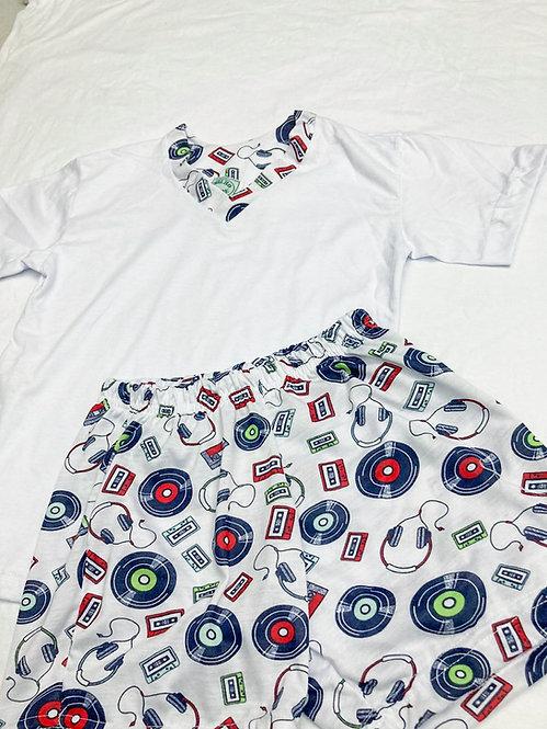 Pijama Curto Musica V