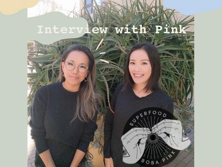 """サンフランシスコの女性起業家ぴんくさんにインタビュー健康志向のタピオカティー""""BOBA PINK"""""""